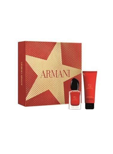 Armani Si Passione EDP 30 ml + Body Lotion 75 ml Parfüm Set Renksiz